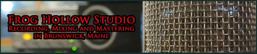 Frog Hollow Studio Banner
